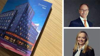 Årsrapporten for 2019 ble utarbeidet i samarbeid med Mission. Adm.dir Eirik Thrygg og CFO Birthe Smedsrud.