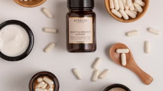 Aurelia London lanserar Beauty & Immunity Support kosttillskott baserad på det senaste inom avancerad probiotisk teknologi