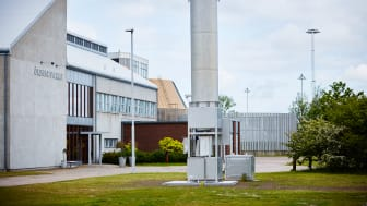 Gasfackla Öresundsverket Helsingborg