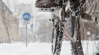 Karlstads kommun söker blivande vintercyklister. Foto från Shutterstock.