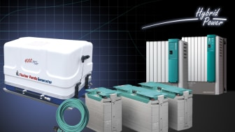 Fischer Panda UK offers battery, parallel hybrid and generator supported electric propulsion solutions, linked with its Mastervolt system integration equipment