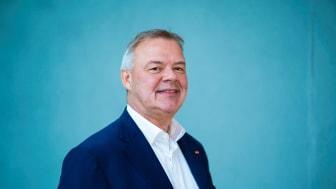 Odd Arild Grefstad, konsernsjef i Storebrand, er glad for gode resultater på Etisk bankguide.