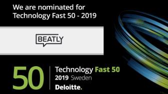 Nominering 50 snabbaste teknikföretag