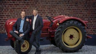 Ägarna på Klaravik, Christian Knutsson och Christian Lenander, kan se tillbaka på ett år där fler än någonsin valt att köpa begagnade verktyg, maskiner och fordon på klaravik.se.