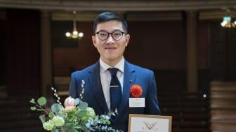 Jingcheng Zhao, Unga Förskare-stipendiat 2021