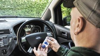 Håndsprit er godt for dit helbred – men ikke din bilkabine