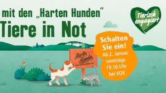 """Wieder im Einsatz: Die """"Harten Hunde"""" ab dem 2. Januar bei VOX – unterstützt von Fressnapf"""
