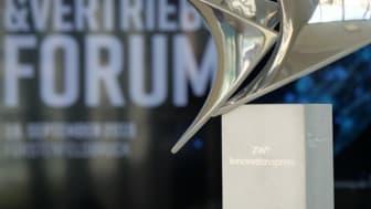 Der vom GVB ausgelobte Innovationspreis geht an die Volksbank Raiffeisenbank Rosenheim-Chiemsee.