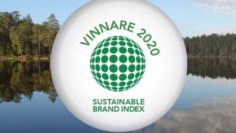 Natrukompaniet kammar hem vinst i Sustainable Brand Index för andra året i rad.
