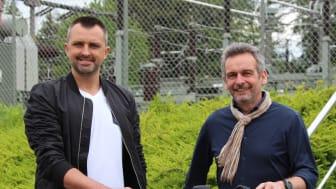 Freuen sich auf die Vereinsarbeit mit Zweirad: Maxim Wasiljew (l.) und Oliver Ritzmann vom Bünder Turnverein Westfalia von 1862 e.V.
