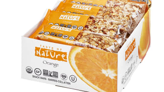 Taste of Nature Orange Dispaly