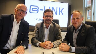 Fra venstre Halvard Gavelstad i Byggtjeneste, Terje Røising NRF og Frank Jaegtnes EFO. Foto Byggevareindustrien