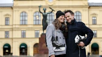 Imorgon öppnar isbanan på Stora torget i Karlstad