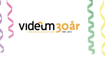 Videum blickar framåt på 30-årsjubileum