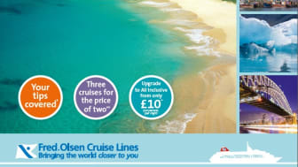 Fred. Olsen Cruise Lines celebrates record-breaking launch of its news 2016/17 itineraries