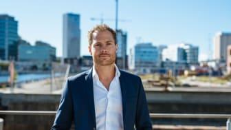 Viktor Karlsson, VD för Telavox, är redo för expansion till Finland.