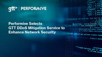 Performive väljer GTT:s DDoS Mitigation