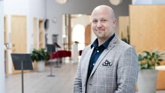 Magnus Petersson, ny chef på Pulsen Konferens och Restaurang Astern.