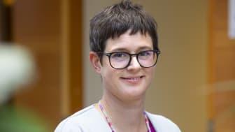 Karolina Boholm, transportdirektör Skogsindustrierna och ledamot i Godstransportrådet.