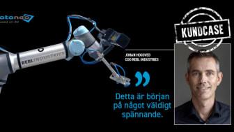 Rebl Industries är sprunget ur en vision & frustration - vad är det som gör att den modernaste tekniken inte kommer till sin fulla nytta i svensk industri?  Vi vill övervinna de hindren och göra tekniken tillgänglig för fler företag.