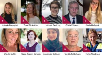 10 finalister Årets volontär
