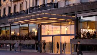New entrance at the Grand Hôtel Stockholm