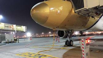 Cavotec pop-up pit at Dubai International Airport's C4 Terminal.
