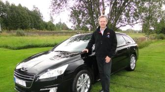 Peugeot kör miljöbilsrally med iOn och 508 e-HDi!