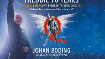 Publiksuccé för Queen-hyllning – Cirkus nästa för Johan Boding och Freddie 70 Years