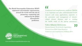 World Naturopathic Federation med brev til helse- og omsorgsminister Høie