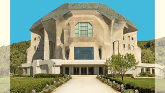Cover des Buches ‹Das Goetheanum. Eine Führung durch den Bau› von Hans Hasler, Verlag am Goetheanum