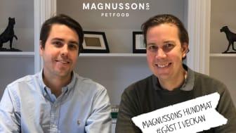 Magnussons hundmat var först ut med att ursprungsmärka sina hundmatsprodukter med Från Sverige för ett år sedan. Följ dem när de gästar Från Sveriges instagram vecka 4 2020.