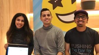 André Francois, Vezérigazgató a Happy at Work közepén és Minel Aykut és Rasyad Yosof