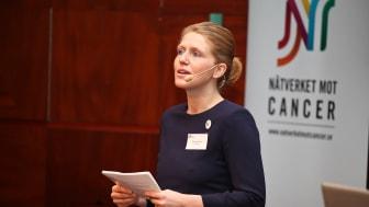 Världscancerdagen 2011: Therese Kärrman var moderator för dagen