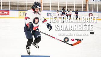 Visma Spcs utökar satsningen kring hockey för tjejer med Växjö Lakers