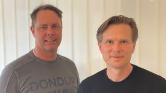 Fredrik Setterberg och Fredrik Hallner.