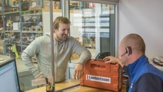 Lambertsson öppnar ny maskinuthyrning i Partille