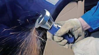 Tehokkaampaa pelti- ja korikorjaustyötä uusilla katkaisulaikoilla