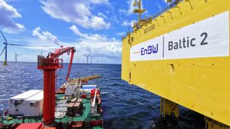 ESVAGT DANA in Baltic 2 offshore wind farm