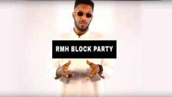 RMH Block Party, 24 september kommer att streamas i 360° på YouTube