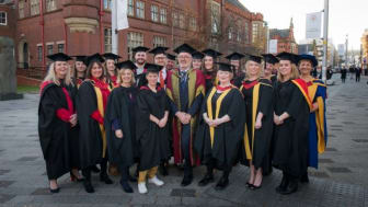 The first student cohort to graduate from Northumbria University's Positive Behavioural Support programmes