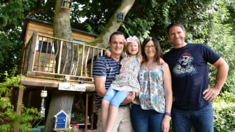 The Jennings Family with Steve Backshall and 'The Faraway Treehouse'
