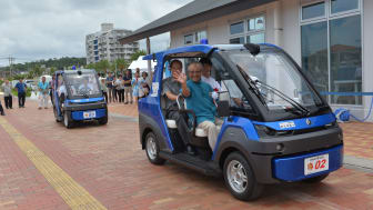 Yamaha Golf Cars/Land Cars User-friendly and Eco-friendly Features and Performance for Expanded Roles in Society-Yamaha Motor Monthly Newsletter(Aug.11, 2017 No.56)-