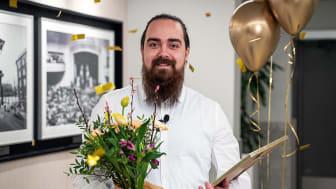 Entercard's employee Richard Sefyrin Lund is Sweden's best customer service agent