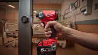 SHH! Milwaukee® esittelee uuden M18 FUEL™ -iskuvääntimen