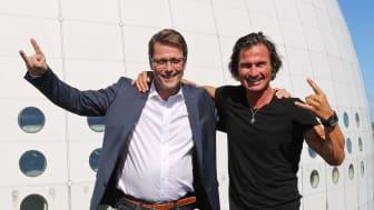 Jan Vikström och Petter Stordalen.