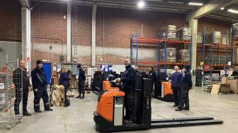 Toyota Material Handling och Martin & Servera Logistik i nytt samarbetsavtal