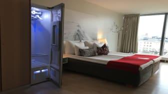 Tack vare LG Stylern kan Nordic Choice Hotels numera erbjuda sina gäster ett bekvämt och miljövänligt komplement till den befintliga tvättjänsten. Bild: Nordic Choice Hotels