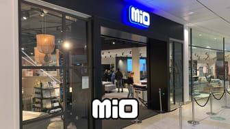 Succé när Mio öppnade i Nacka Forum
