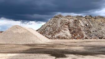 Stor klimatnytta att använda slaggrus som konstruktionsmaterial